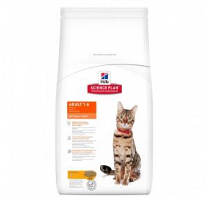 Hill's Science Plan Feline Adulte 1 à 6 ans Santé & Equilibre Nourriture pour Chat Croquettes 15kg Poulet