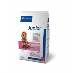 VET HPM DOG JUNIOR SPEC M           12KG