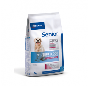VET HPM DOG SENIOR NEUTERED M/L     12KG