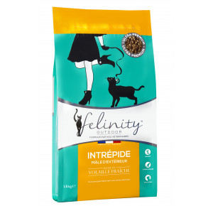 Felinity Outdoor croquettes pour mâle d'extérieur Sac de 1,5 kg