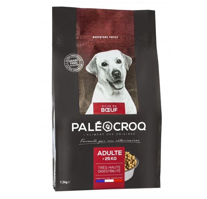 Paleocroq adulte + 25 kg GRANDE RACE Sac de 7,5 kg