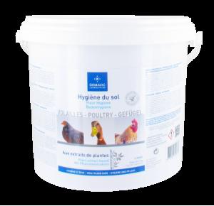 LITAVIC - Hygiène du Sol Volaille - Seau de 2 kg