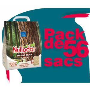 Pack 56 sacs Nullodor bois...