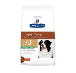 Hill's Prescription Diet Canine J/D Santé Articulaire Nourriture pour Chien Croquettes Calorie Réduite 12kg Poulet