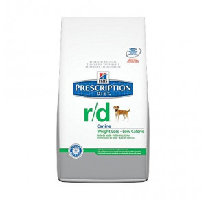 Hill's Prescription Diet Canine R/D Réduction du Poids Nourriture pour Chien Croquettes 1.5kg Poulet