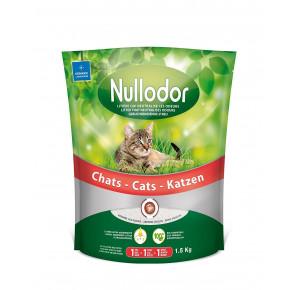 Nullodor Litière en Silice pour Chat 1,5 kg